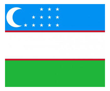 Ўзбекистон Республикаси байроғи